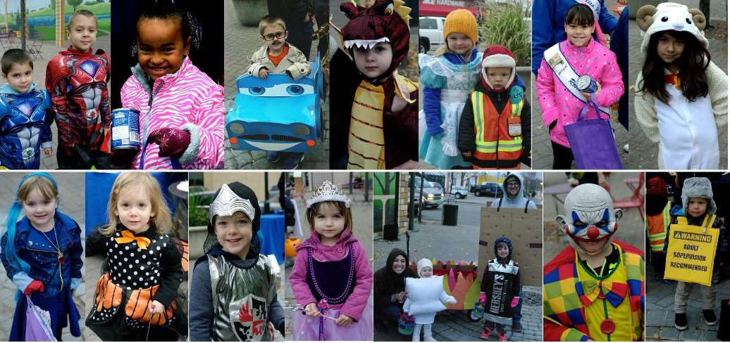 Photos of Trick or Treat Costumes