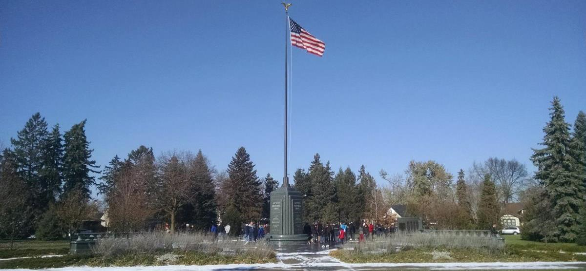Veterans Day Flagpole