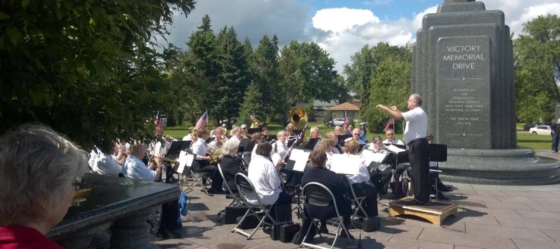 City Band at Memorial Day Event